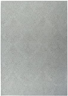 KAVKA 设计阿拉伯风格室内-室外脚垫,(灰色),尺寸:60.96x91.44x0.2- (TELAVC123FM23)