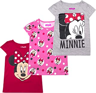 Girls 3-Pack T-Shirts: Wide Variety Includes Minnie,...