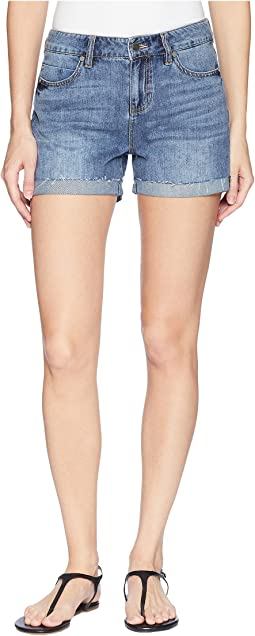 Bailey Bermuda Shorts on Soft Rigid Denim in Bellevue Vintage Medium