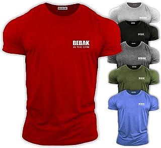 GYM CLOTHES FOR MEN Gym T Shirt Bodybuilding T Shirts Gym Clothes – BEBAK Workout Top Training Tops Arnold Schwarzenegger ...