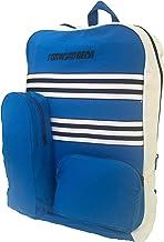 Stripes Canvas Backpack | Big School Bag