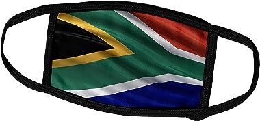3dRose fm_174035_1 Face Mask Large, Flag of South Africa