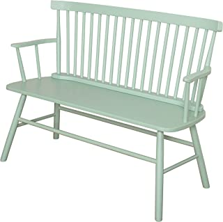 Best long wooden bench with arms and high back Reviews