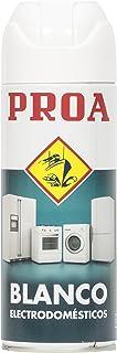 Proa. SPRAY Blanco electrodomésticos PROA, Blanco electrodomésticos. 400 ML