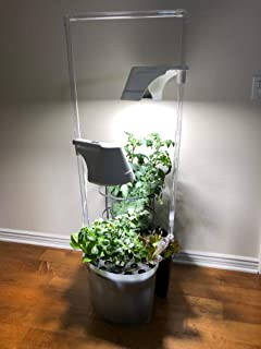 Kingro Grand 5 in 1 Indoor Gardening Ecosystem Hydroponic with 2 LED Lights Easy to Grow!!!!