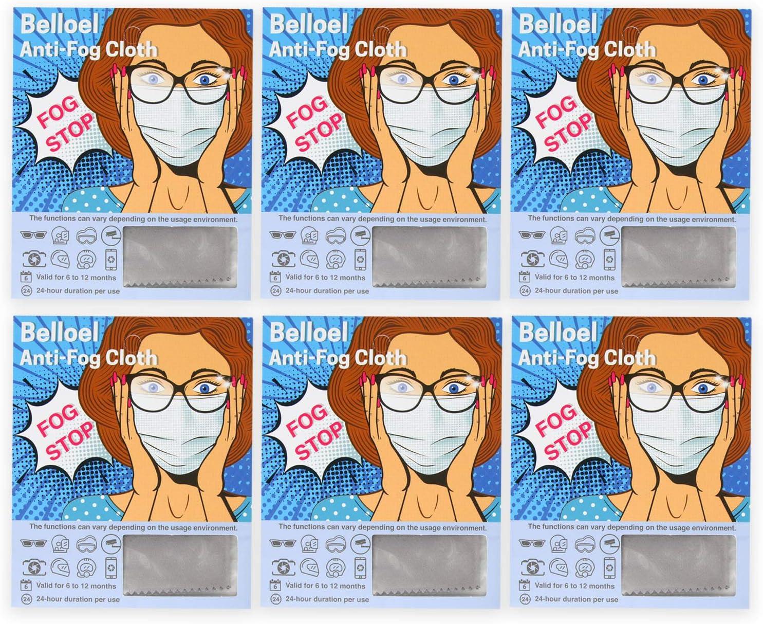 Belloel New mail order Reusable Cheap mail order specialty store Advanced Anti Fog Cloth Nano f -