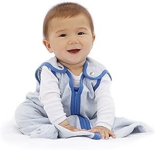 baby deedee Sleep Nest Lite, Sleeping Bag Sack - Heather Blue, L (18-36 Months)