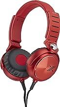 Sony MDRX05/BR Simon Cowell X Headphone (Black/Red)