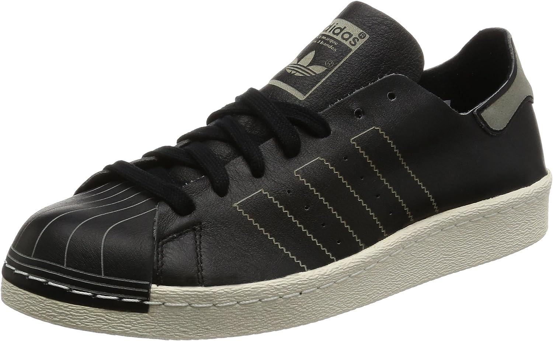 Adidas Originals Mens Superstar 80s Decon Low Rise Trainers - Black
