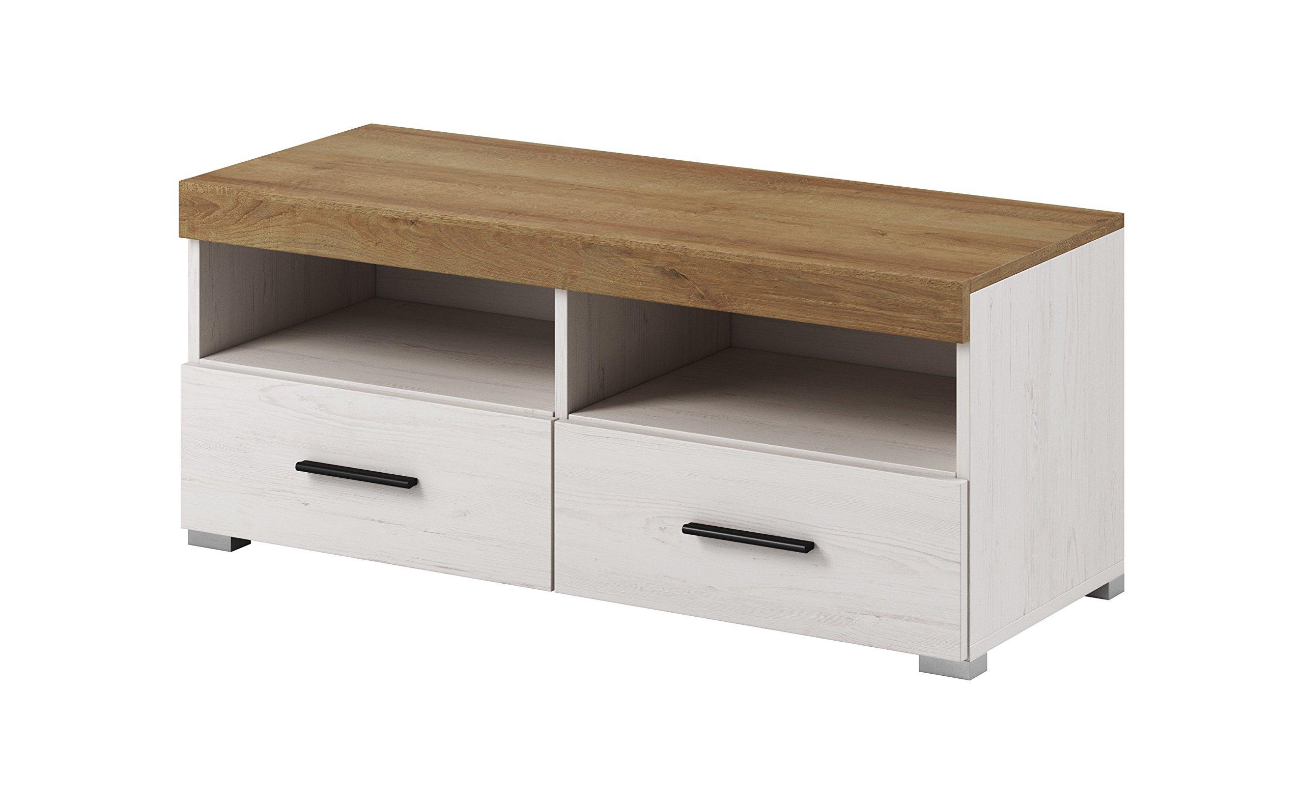 Gravalo Erik Collection - Mueble para televisor (99,37 cm de Ancho, con Estante para Colgar, 99,