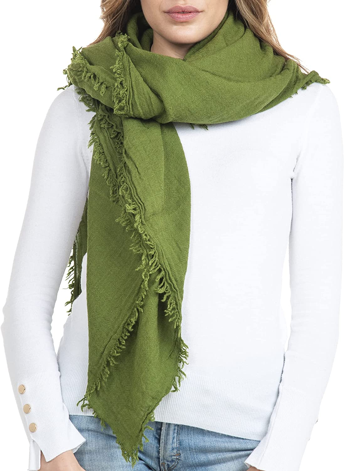 Recommendation GIULIA BIONDI 100% Made in Italy Shawl Scarf Silk Blan Wrap OFFer Wool