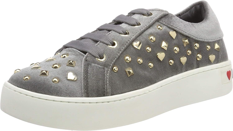 ランキング総合1位 Love 新作販売 Moschino Women's Scarpad.gomma35 Sneaker Velluto