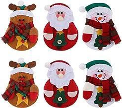 Geschirr für Weihnachten, gesundes Vlies, Cartoon, Besteckm