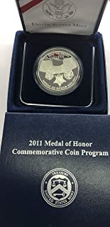 2011 P Medal Of Honor Comes in original Packaging From the US Mint Dollar Proof US Mint