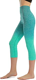 featured product Freeskin Ombre Yoga Pants Women's Seamless Yoga Leggings High Waist Tummy Control Power Stretch Workout Running Tights