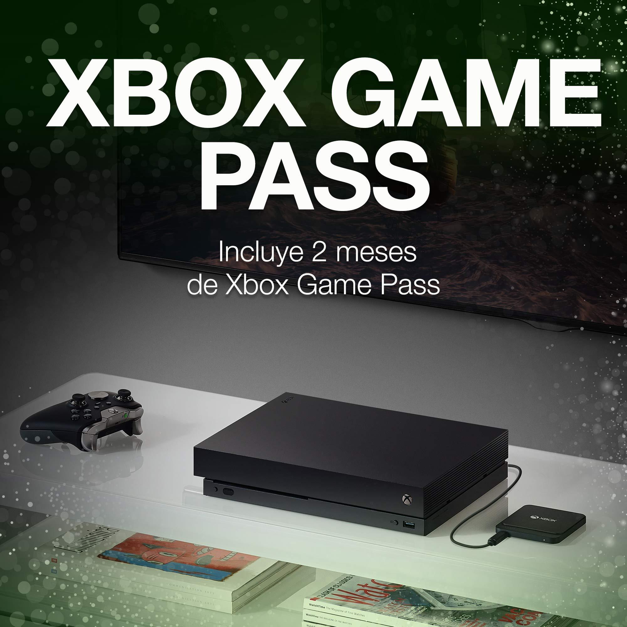 Seagate Game Drive para XBox, 1 TB, Disco duro SSD, USB 3.0 portátil, diseñado para Xbox One, 2 meses de suscripción a Xbox Game Pass (STHB1000401): Amazon.es: Informática