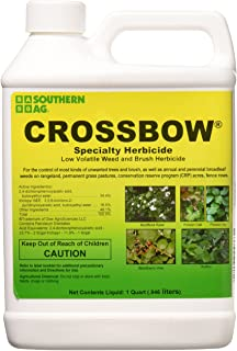 Southern Ag CROSSBOW32 Weed & Brush Killer, 32oz-1 Quart Crossbow Specialty Herbicide..