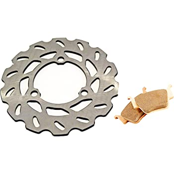 Race Driven fits Honda Front /& Rear RipTide Brake Rotor and Brake Pads