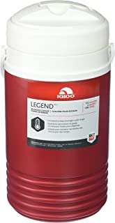 Igloo 1 Quart Legend Beverage Cooler with Carrying Strap, BPA Free, Red