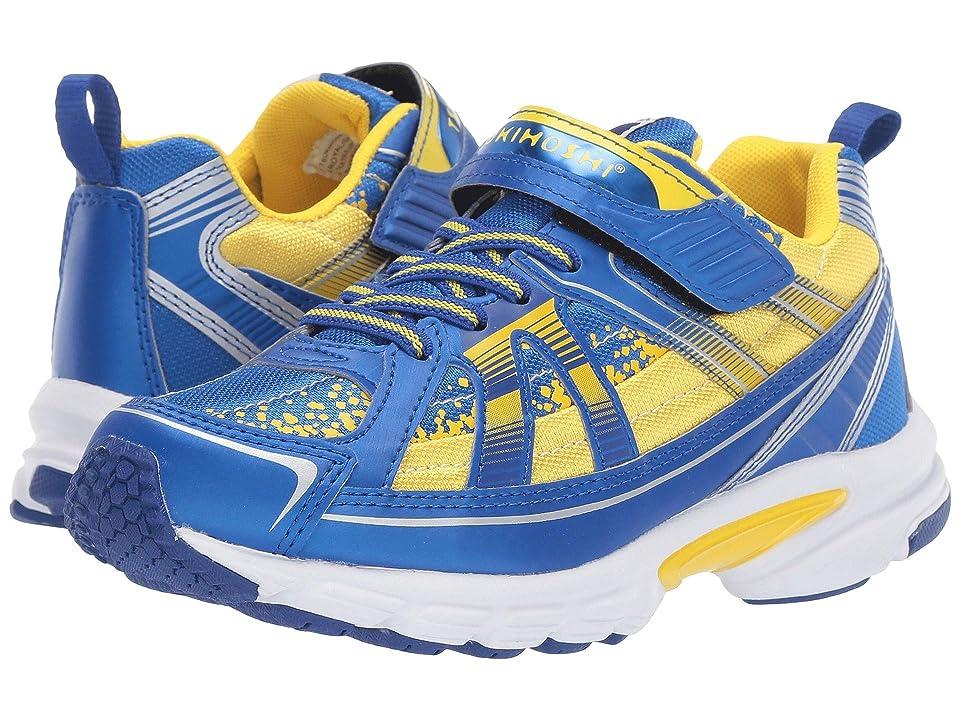 Tsukihoshi Kids Storm (Little Kid/Big Kid) (Royal/Gold) Boys Shoes