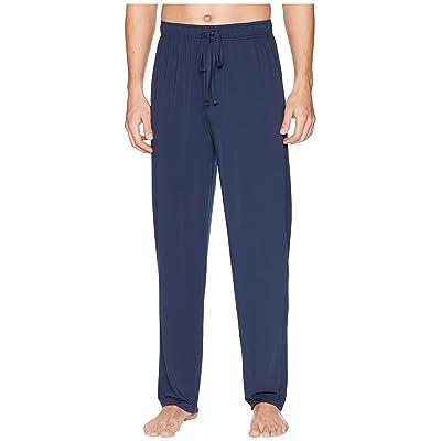 Jockey 92 Poly/8 Span Sleep Pants (Solid Dress Blues) Men