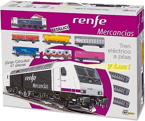 Pequetren pequetren888 assic merchandises RENFE Modell Zug mit Licht Crossing Rails und Vier Umwege