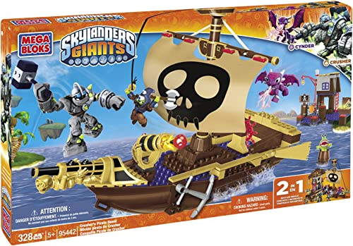 Mega Bloks 95442 - Skylanders Crusher's Pirate Quest