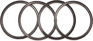 4 Pack New OEM Replacement Rubber Lid Seals for 14 or 30 Ounce Insulated Stainless Steel Tumblers Such As Yeti RTIC Ozark Trail Mossy Oak Atlin Beast