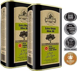 Ellora Farms, Global Award Winner | Single Estate Greek Extra Virgin Olive Oil | Kosher..
