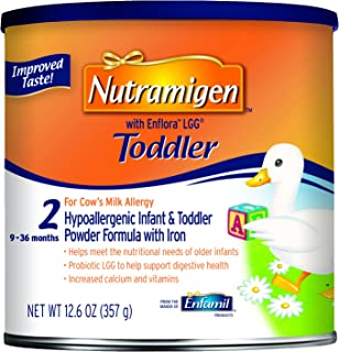 Enfamil Nutramigen with Enflora LGG Toddler Formula, Powder, 12.6 Ounce