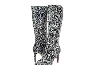 Steve Madden Kinga Knee High Boot (Blue Snake) Women