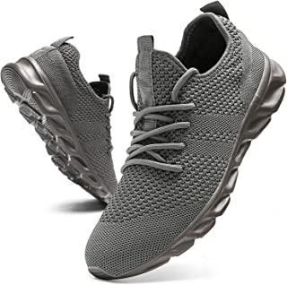 Mens Tennis Shoes Athletic Running Shoes Lightweight...