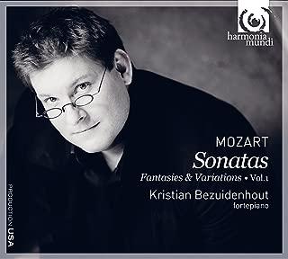 モーツァルト:ピアノ作品集 幻想曲ハ短調K.475 他 Mozart: Sonatas - Fantasies & Variations Vol.1 / Kristian Bezuidenhout - fortepiano  輸入盤・日本語解説書付