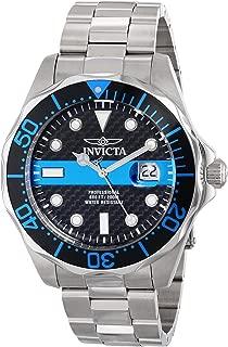 Men's 14702 Pro Diver Analog Display Swiss Quartz Silver Watch