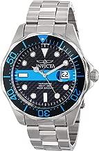 Invicta Men's 14702 Pro Diver Analog Display Swiss Quartz Silver Watch
