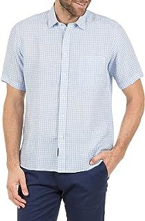 Blazer Men's David Short Sleeve Linen Shirt