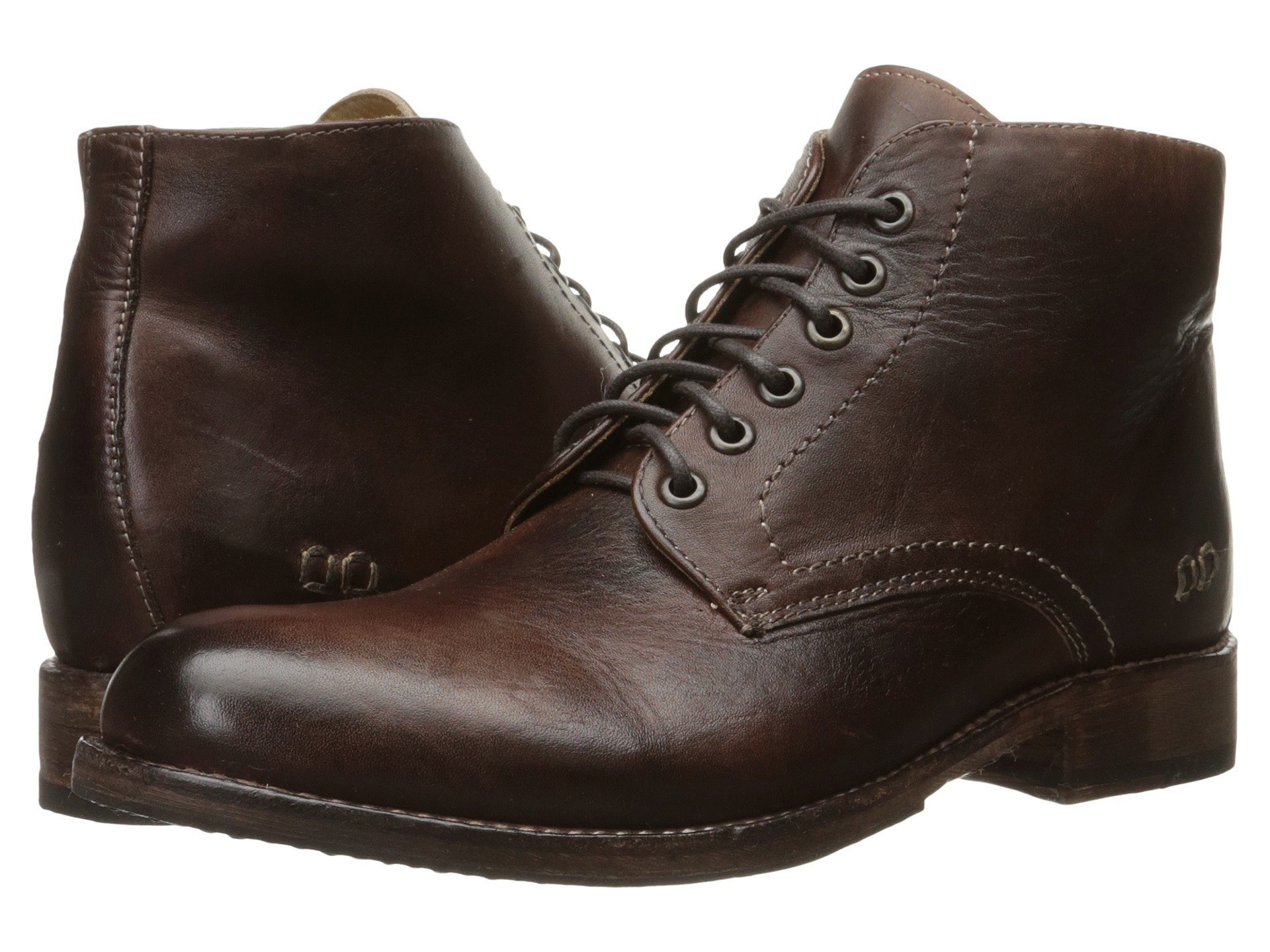 Stu Bed Rustic Leather Teak Bradley dqZpwqU