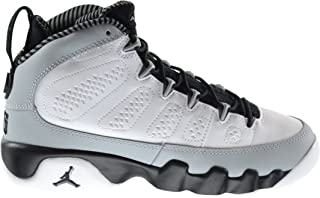Nike Boys Air Jordan 9 Retro BG Barons Leather Basketball Shoes