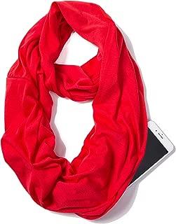 infinity scarf with storage