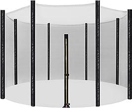 Songmics Veiligheidsnet voor trampoline, vervangend net, rond beschermingsnet voor tuintrampoline