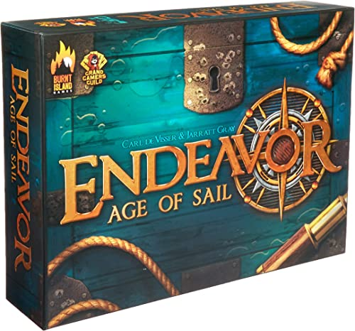 Burnt Island Games BTI1001 Endeavor Age of Sail