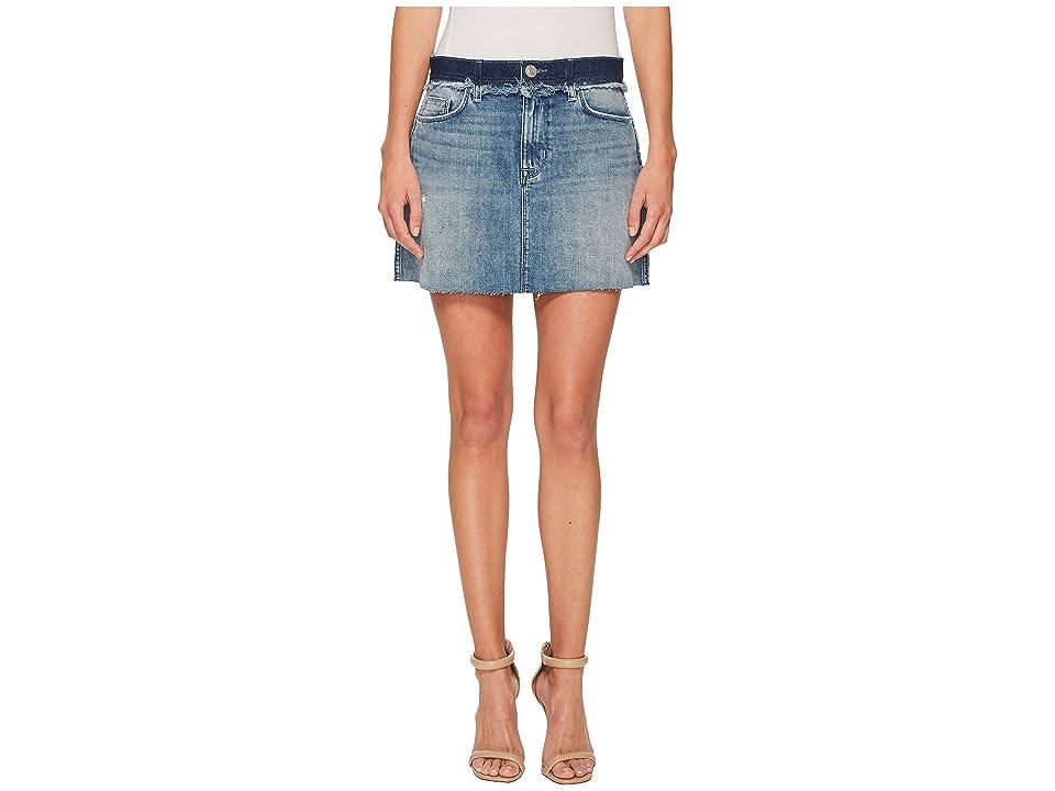 Hudson Jeans Custom Vivid Skirt in Rock Steady (Rock Steady) Women