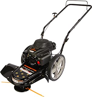 push behind brush mower