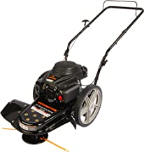 high wheel walk behind mower