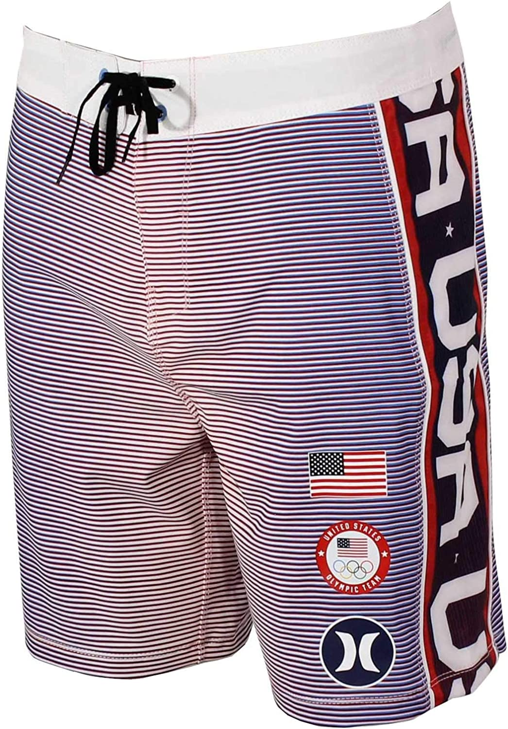 Special price for 2021new shipping free shipping a limited time Hurley Phantom Fastlane USA Boardshorts 18