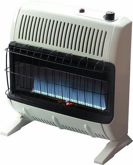 Mr. Heater 30,000 BTU Natural Gas Blue Flame Vent Free Heater: image