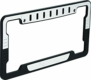 Bell Automotive 22-1-46708-8 Universal Hex License Plate Frame