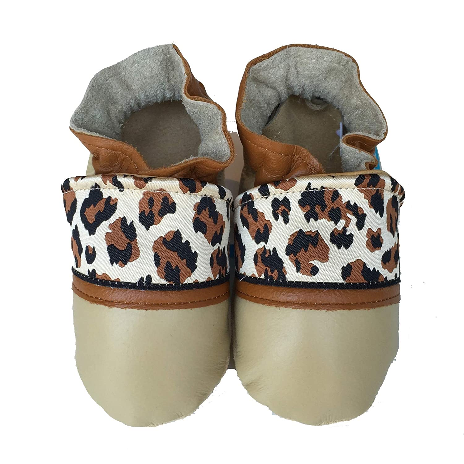 JUNGLE CAT Handmade in USA All-Natural Time sale Time sale Baby Leather Shoes. Sma