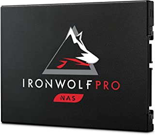 Seagate IronWolf Pro 125 SSD, 480 GB, NAS Internal Solid State Drive - 2.5 Inch SATA 6 Gb/s speeds up to 545 MB/s, 1 DWPD ...