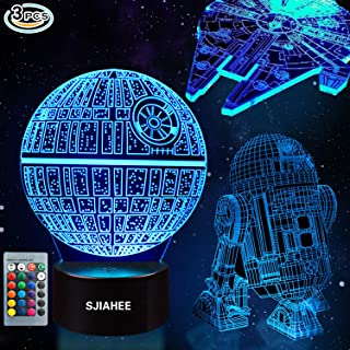 3D Star Wars Lamp - Star Wars Gifts - Star Wars Light - Optical Illusion Led Light - Star Wars Lamp& Perfect Gifts for Kids and Star Wars Fans (1)